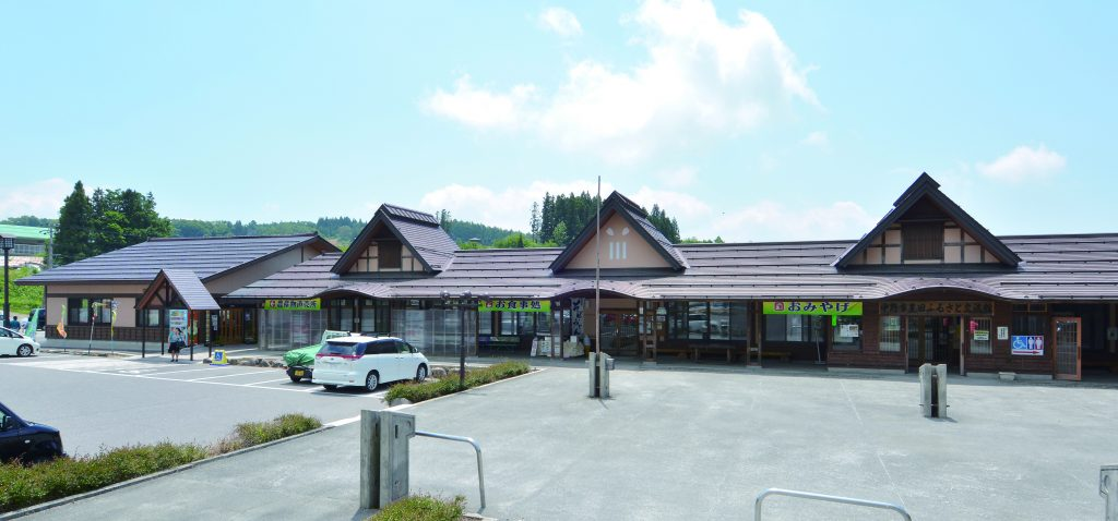 道の駅ふるさと豊田外観