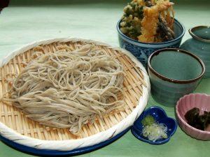 ざる蕎麦ミニ天丼セット